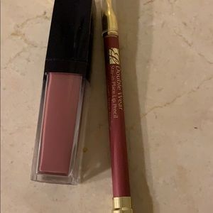 Brand new Estée Lauder liquid lip and liner